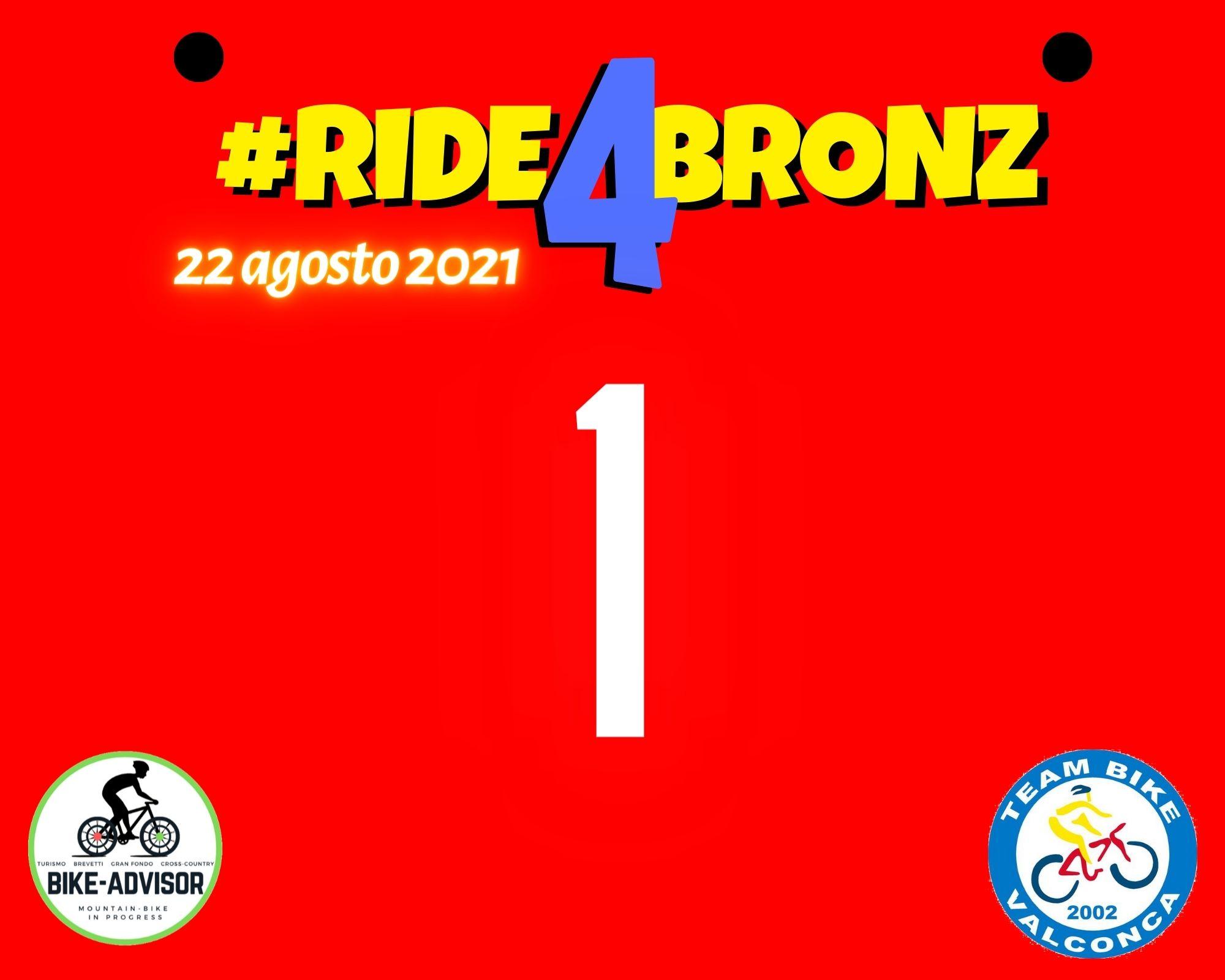 Ride4Bronz: ecco i premi a sorteggio!